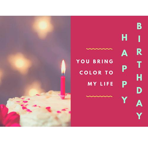 Birthday Gift Card