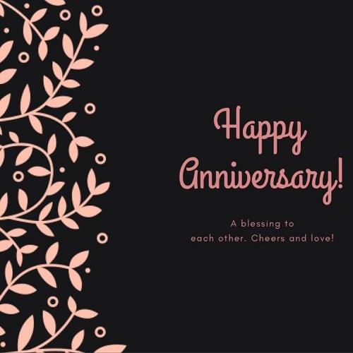 Happy Anniversary Gift Card