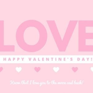 Happy Valentines Gift Card