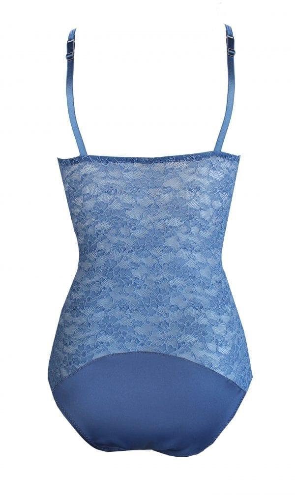 Bodysuit blue back