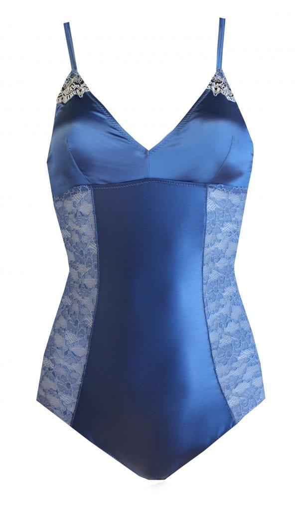 Bodysuit blue front