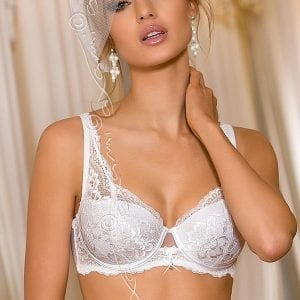White push up bra