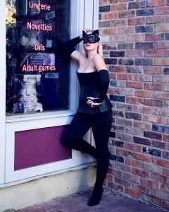 black cat suit