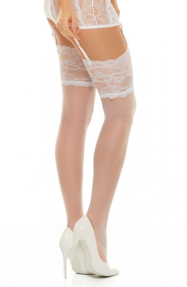 White stockings