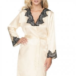 Cream Dressing Gown