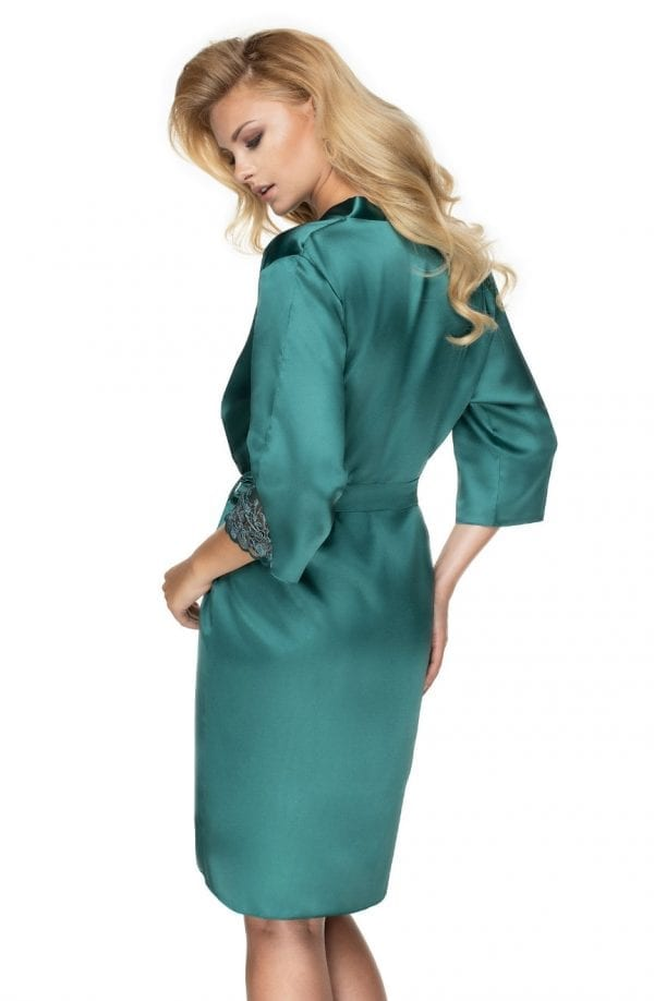 Dressing Gown in Emerald