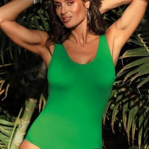 Bright Green Swimsuit