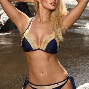 Oxford Blue Triangle Bikini