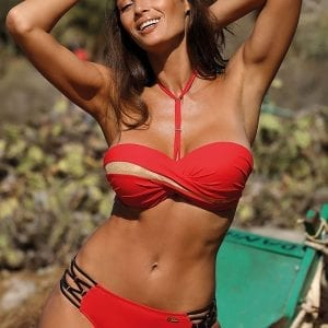 Red Ladies Bikini