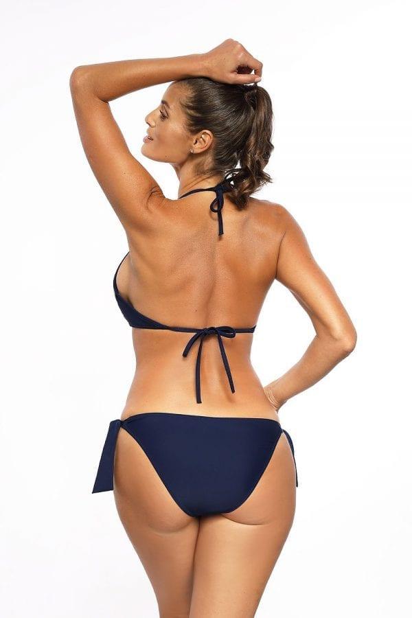 Triangle Bikini in Oxford Blue