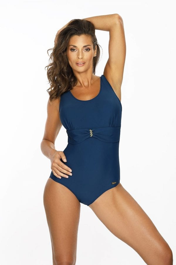 Swimsuit Navy Blue