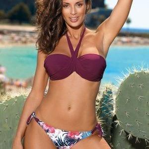 Violet Halter Neck Bikini