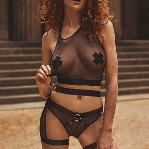 Lara Lingerie Set in Black