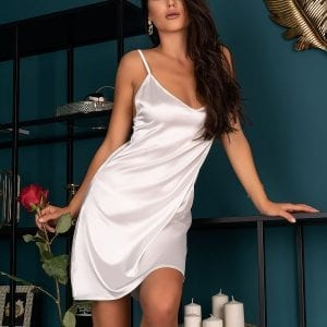 White Satin Nightdress