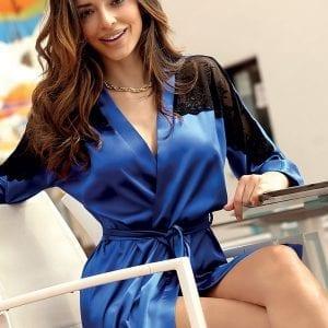 Blue Peignoir