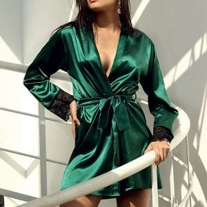 Green Dressing Gown